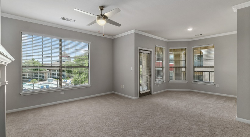 Spacious apartment floor plan at apartments in Euless, TX