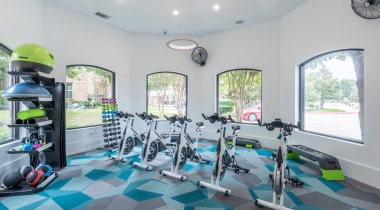 Spin studio at Cortland Fossil Creek