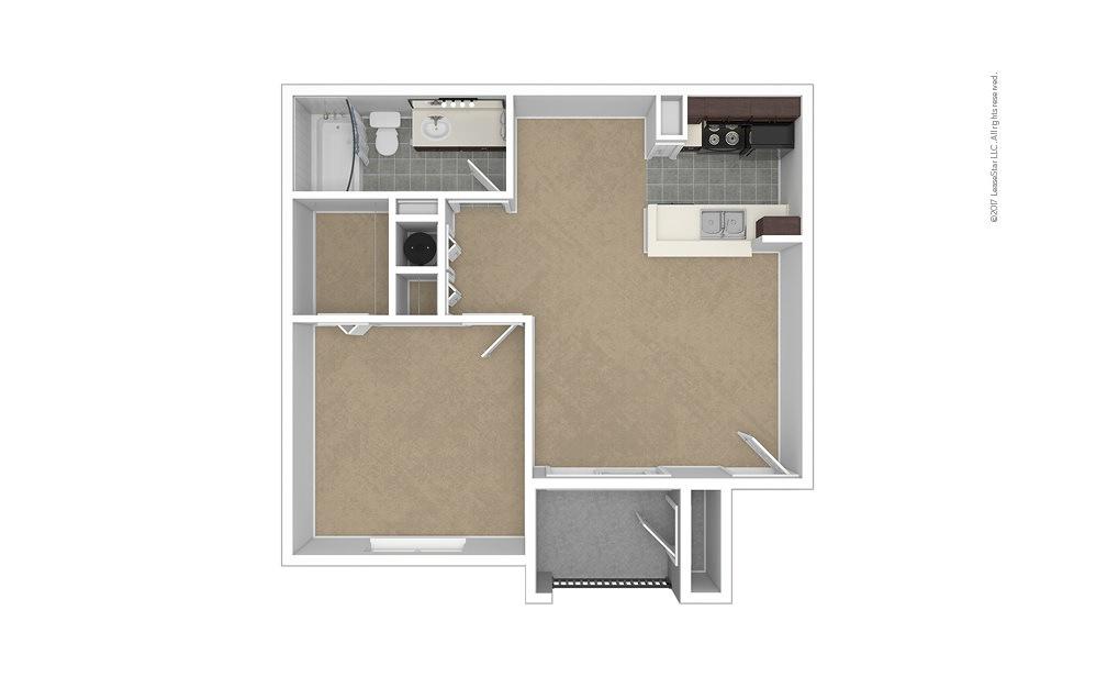 Reddington 1 bedroom 1 bath 616 square feet (1)