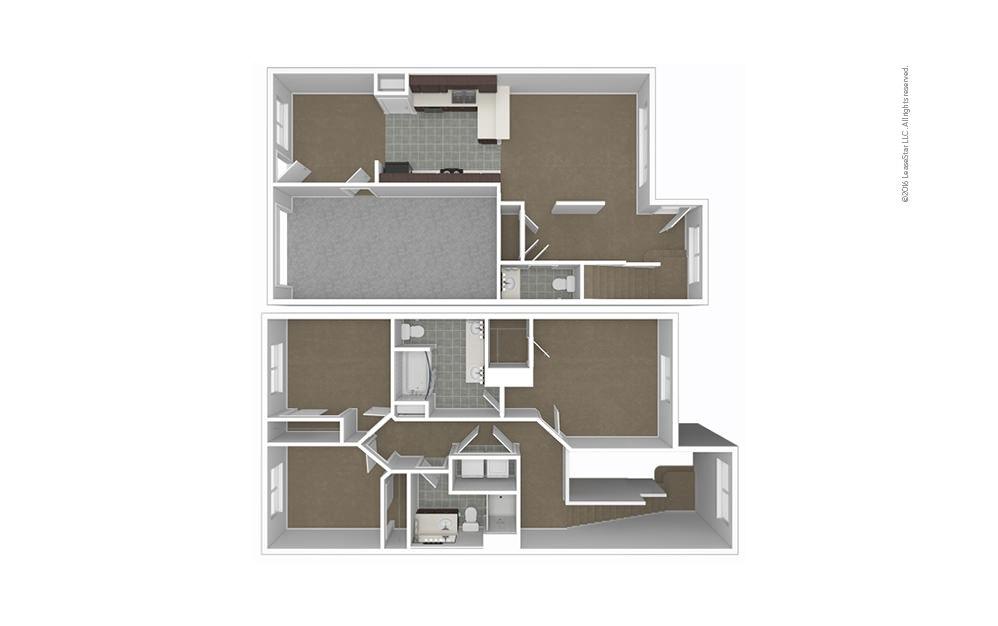 Mt. Holly 3 bedroom 2.5 bath 1404 square feet (1)