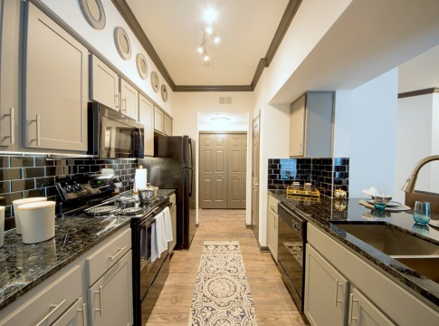 Kitchen in apartments in willowbrook