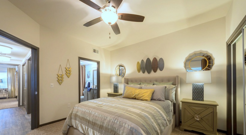 Bedroom in cortland copper springs apartments for rent