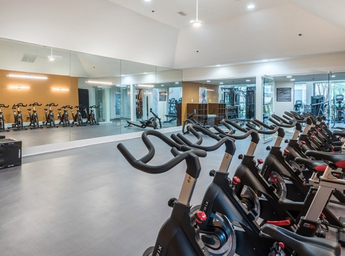Spin Studio at at Our Apartments by Cortland