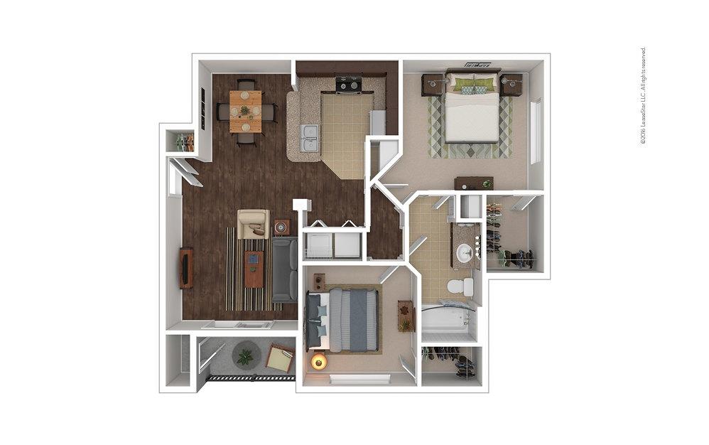 Bimini 2 bedroom 1 bath 925 square feet