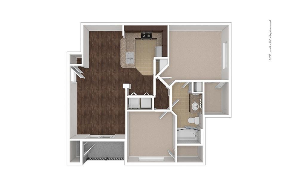 Bimini 2 bedroom 1 bath 925 square feet (1)