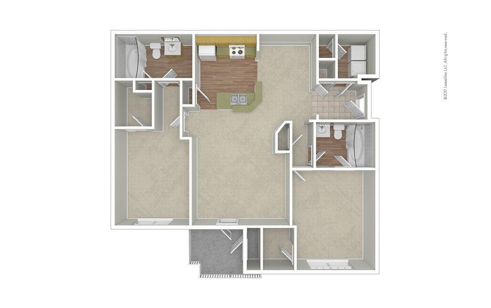 Champion 2 bedroom 2 bath 1118 square feet (1)