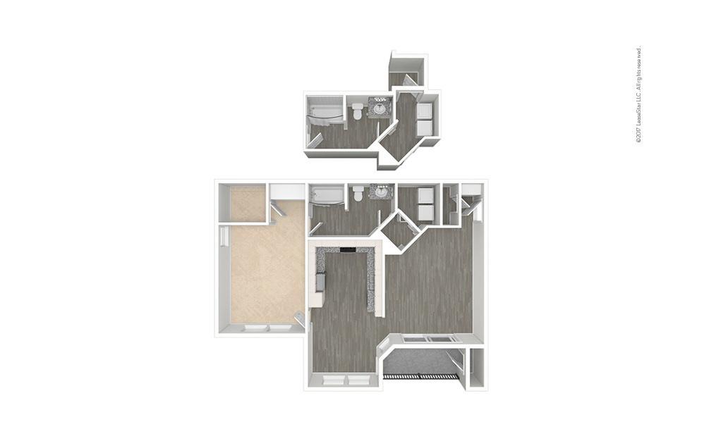 Arezzo 1 bedroom 1 bath 838 square feet (1)