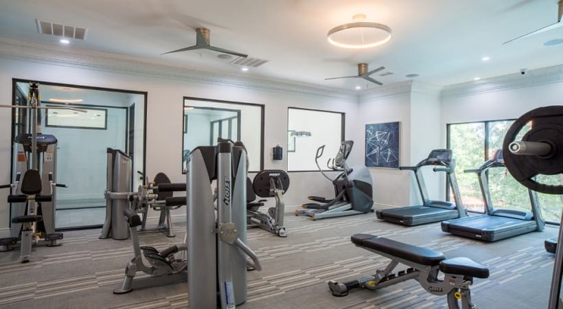 Our Valley Ranch apartments with gym