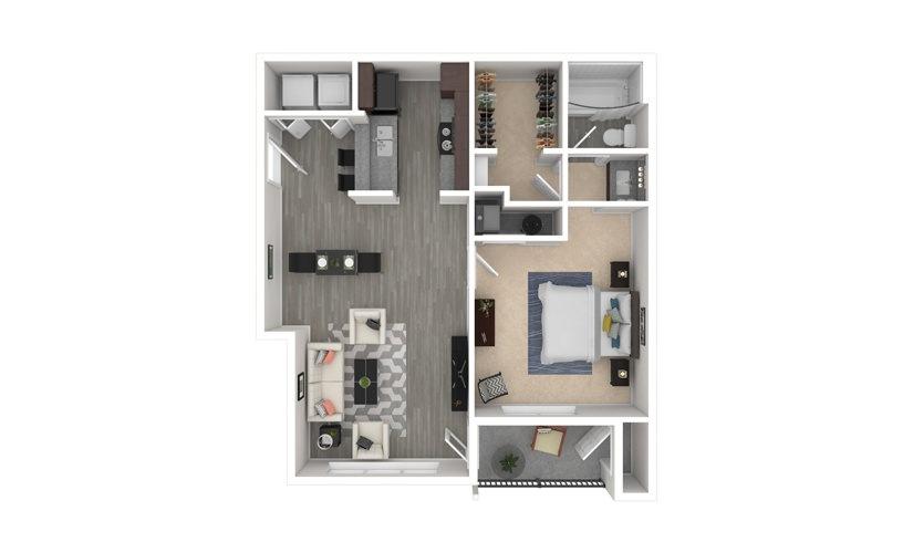Cherry Blossom 1 bedroom 1 bath 719 square feet