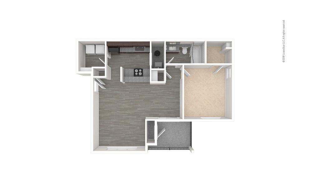 Gardenia 1 bedroom 1 bath 827 square feet (1)