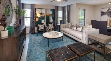 Stylish Living Room in Our Embry Hills Apartments