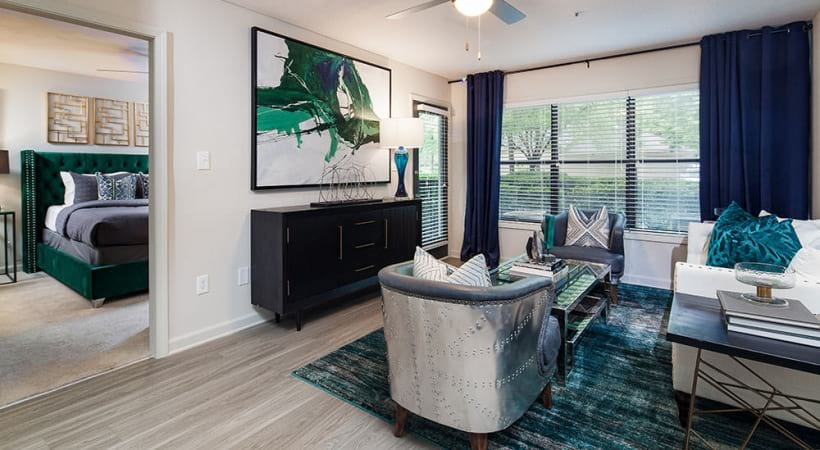Spacious apartment floor plan at our Chamblee apartments