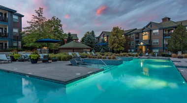 Luxury Resort Style Pool at Cortland Grand River