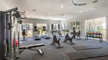 Durham luxury apartments with fitness center