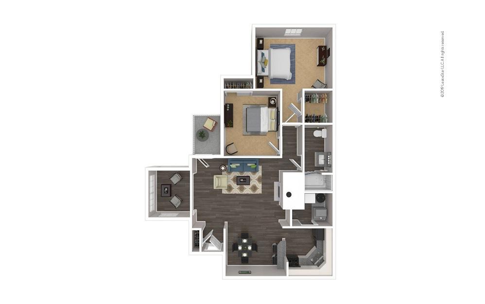 Morehead 2 bedroom 1 bath 962 square feet