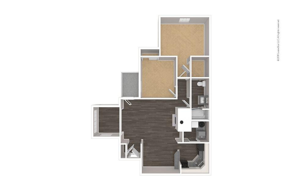 Morehead 2 bedroom 1 bath 962 square feet (1)