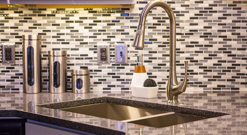 Designer Tile Backsplash