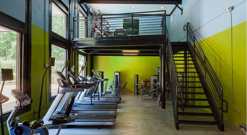 24/7 Fitness Center with Spin Room
