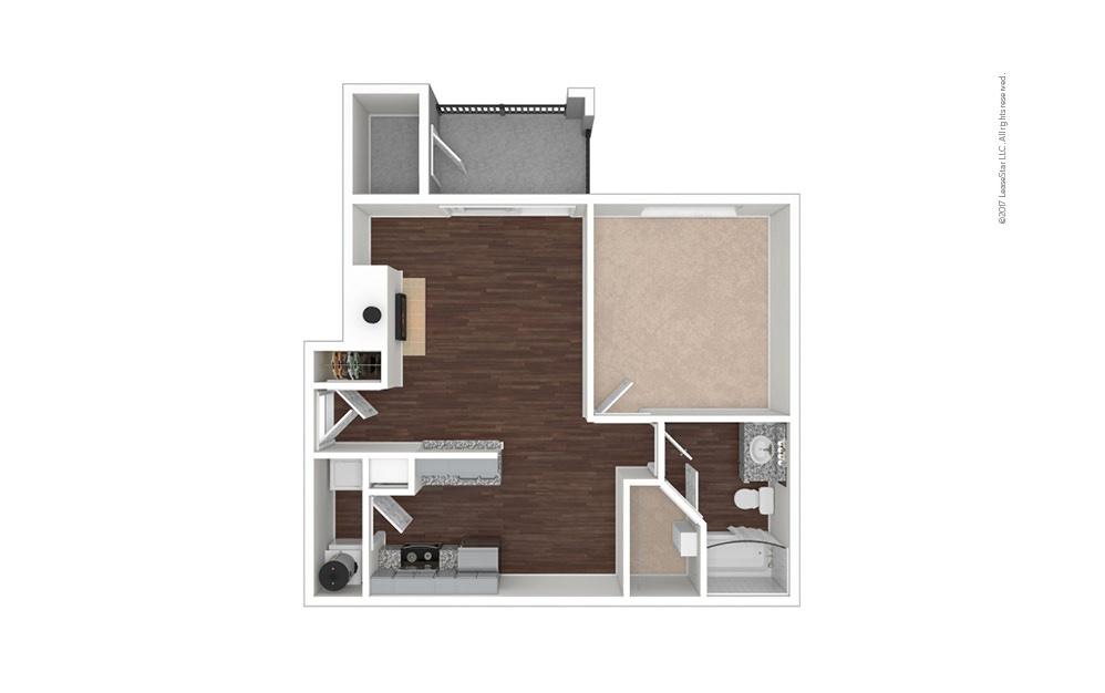 A1 1 bedroom 1 bath 692 square feet (1)