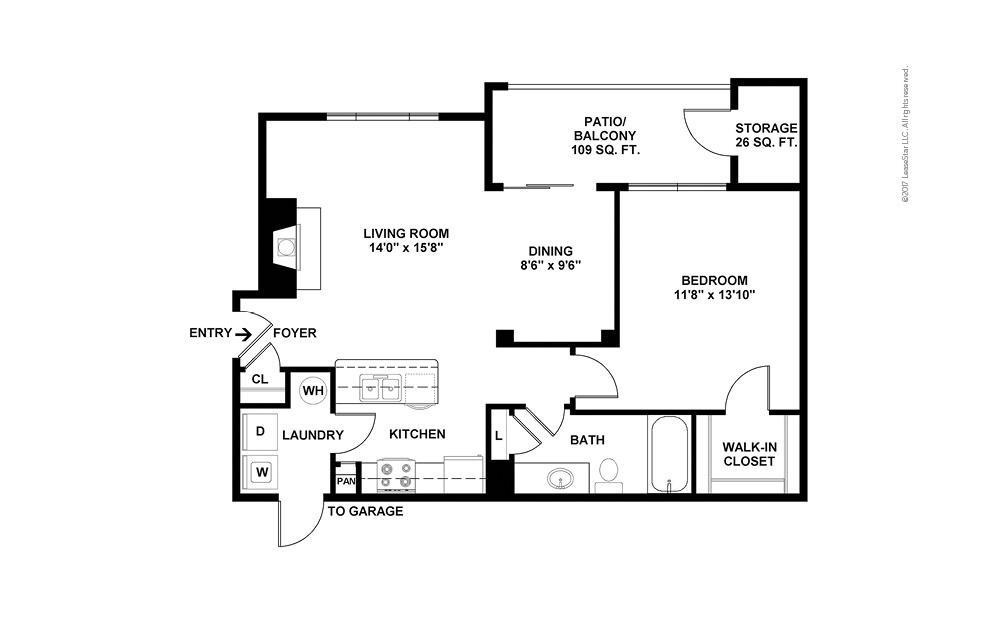 A5 1 bedroom 1 bath 842 square feet (2)