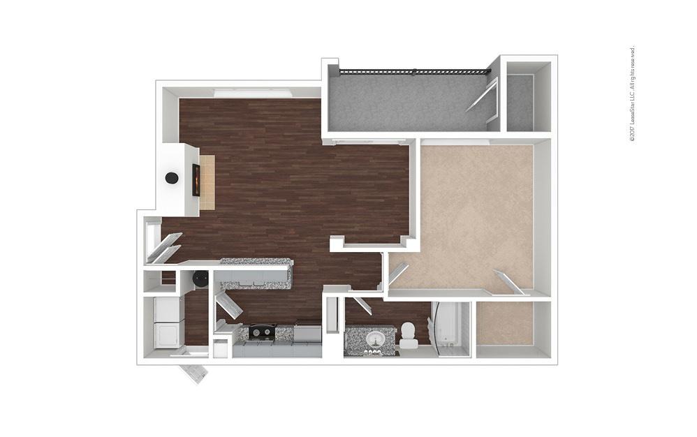 A3 1 bedroom 1 bath 819 square feet (1)