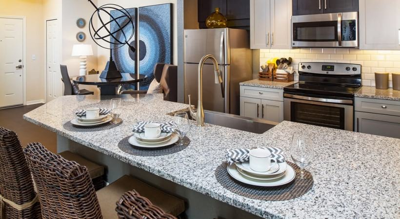 Sleek Granite Countertops