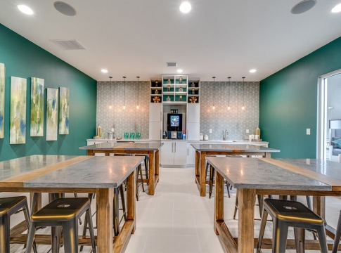 Resident Kitchen with Starbucks® Coffee Bar