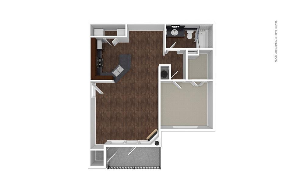 The Santa Anita 1 bedroom 1 bath 858 square feet (1)