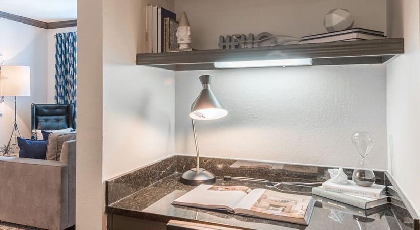 Built-In Desks