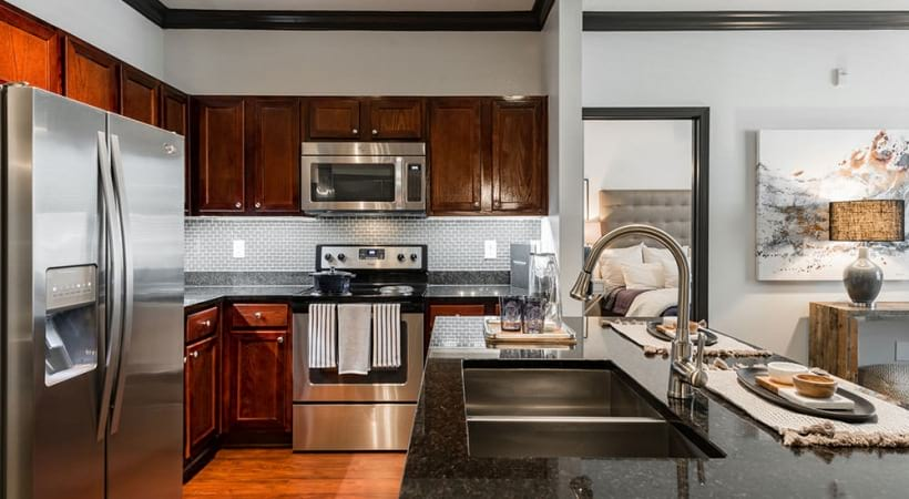 Apartments for Rent with Stainless Steel Appliances