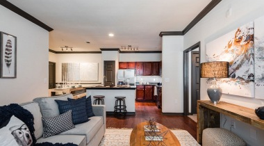 Spacious apartment floor plan at Cortland Lakemont
