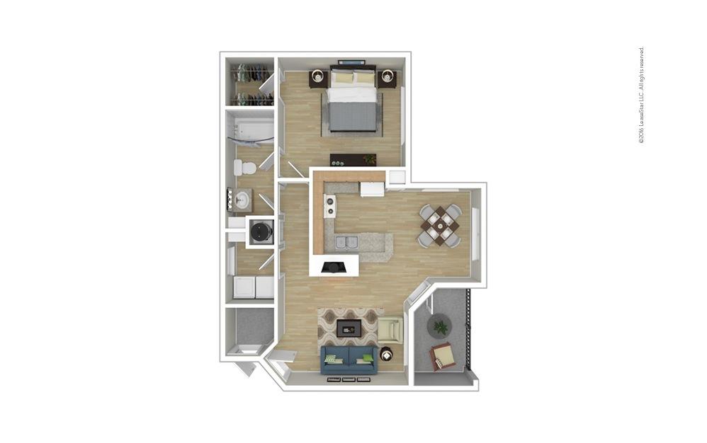 Welsh 1 bedroom 1 bath 791 square feet