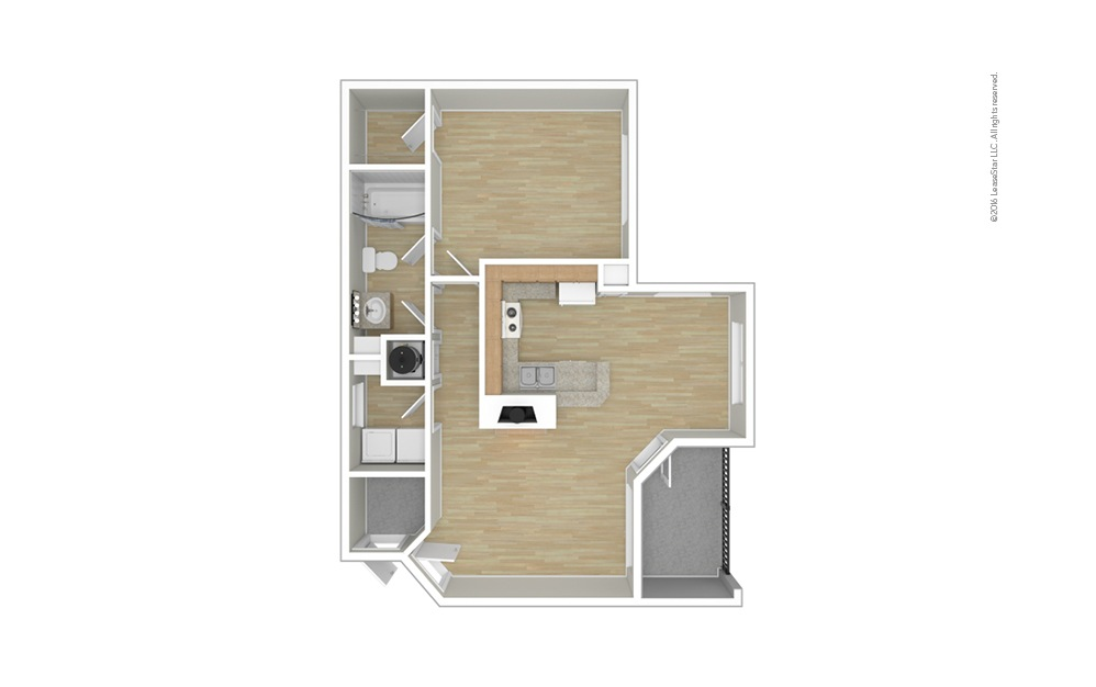 Welsh 1 bedroom 1 bath 791 square feet (1)