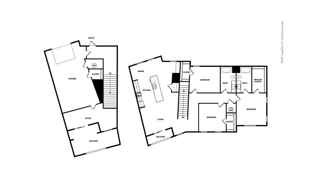 Tide North 3 bedroom 2 bath 2272 square feet (2)