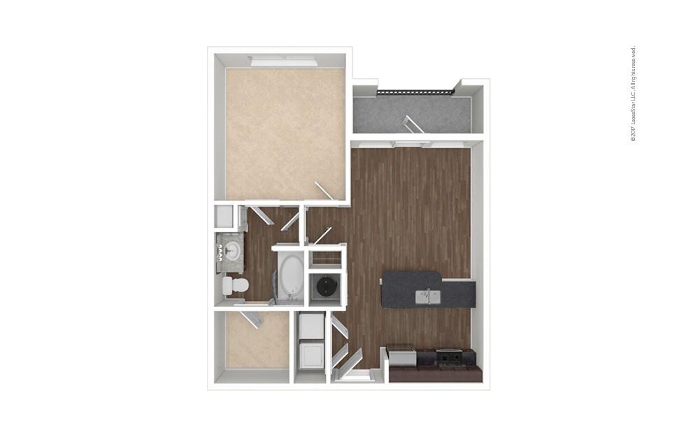 Hartwell 1 bedroom 1 bath 661 square feet (1)