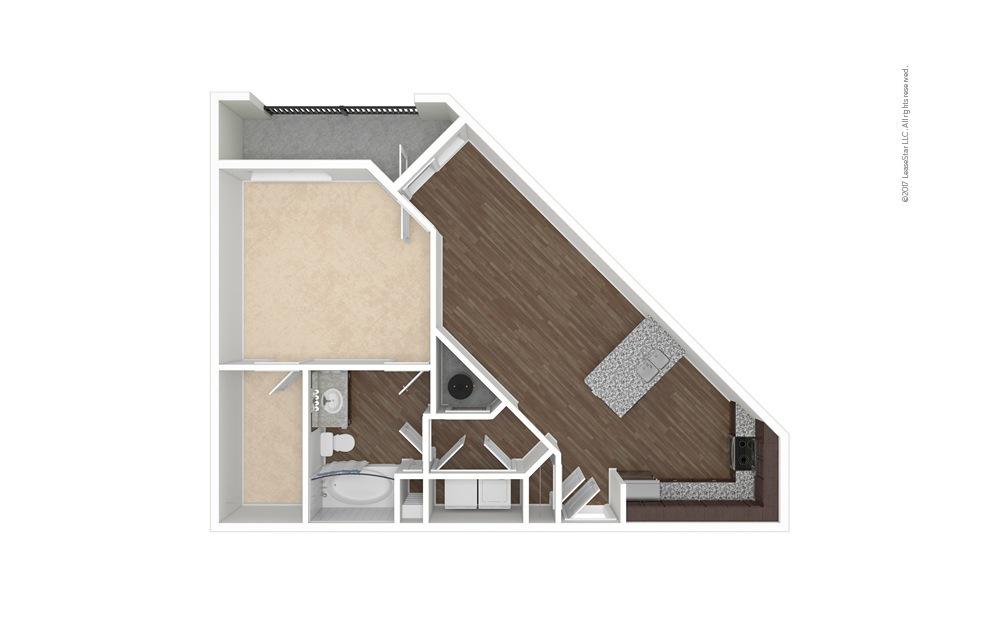 High Rock 1 bedroom 1 bath 815 square feet (1)