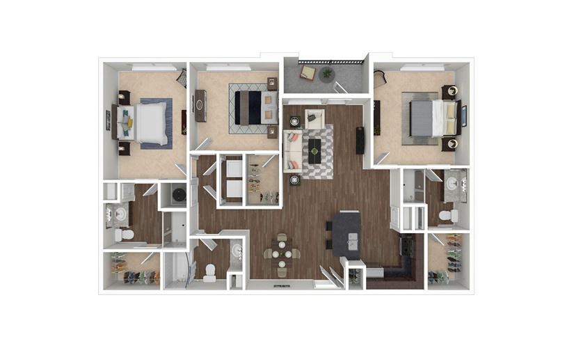 Wylie 3 bedroom 3 bath 1420 square feet