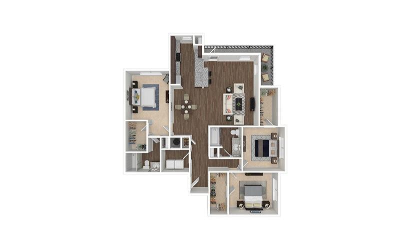 Tillery 3 bedroom 2 bath 1471 square feet