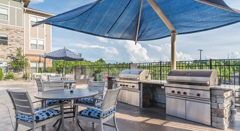 Poolside Barbecue Grills