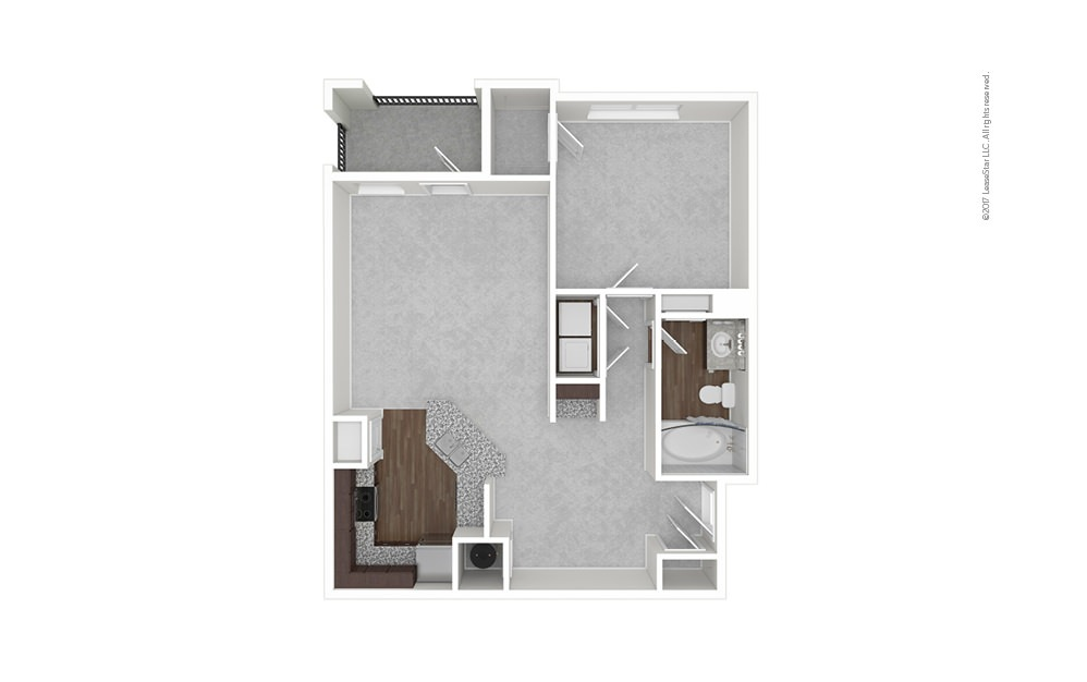 A1 1 bedroom 1 bath 890 square feet (1)