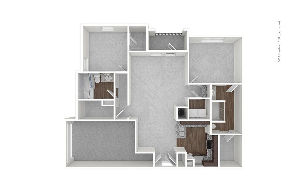 B2 2 bedroom 2 bath 1324 square feet (1)