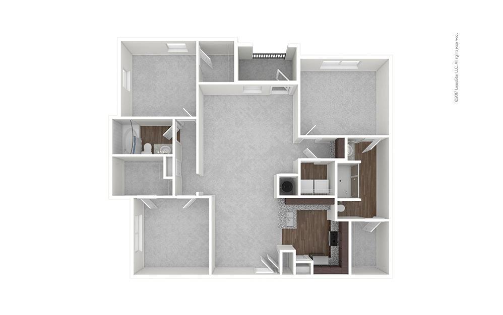C1 3 bedroom 2 bath 1491 square feet (1)