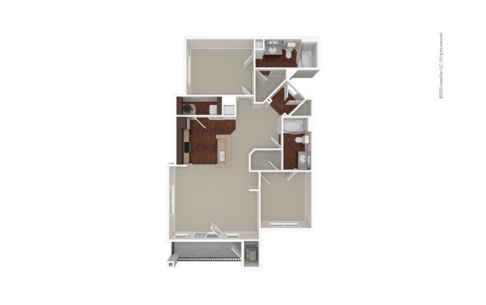 The Dartmouth 2 bedroom 2 bath 1073 square feet (1)