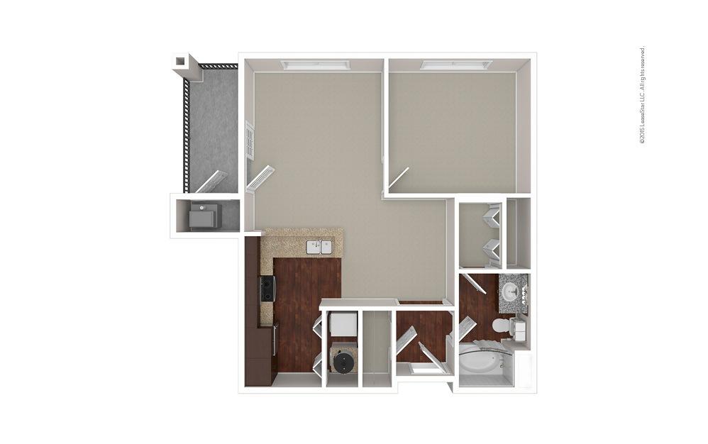 The Elon 1 bedroom 1 bath 793 square feet (1)