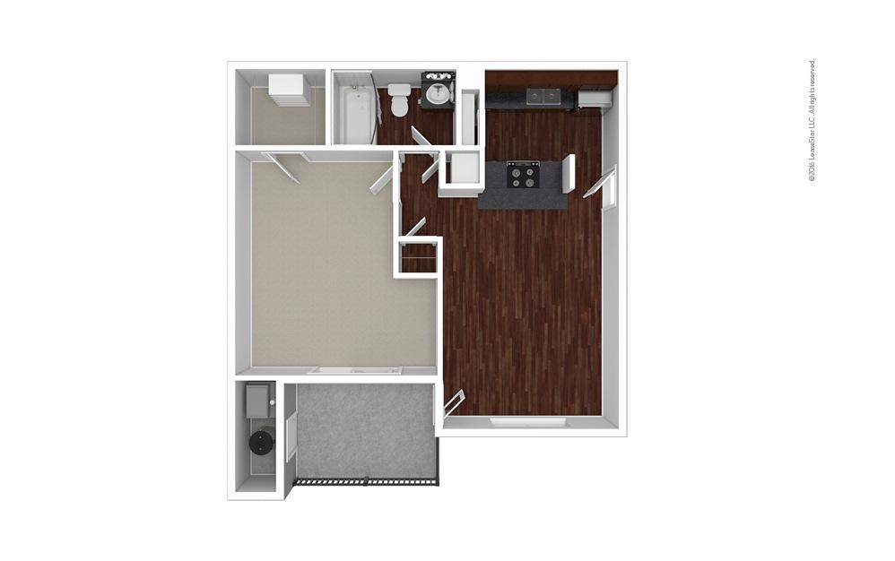 Gardenia 1 bedroom 1 bath 680 square feet (1)