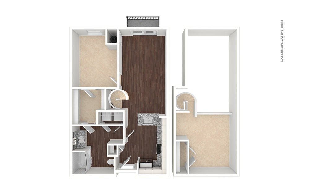 Colorado 1 bedroom 1 bath 954 square feet (1)