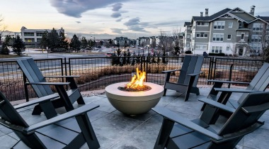 Outdoor Lounge and Fire Pit