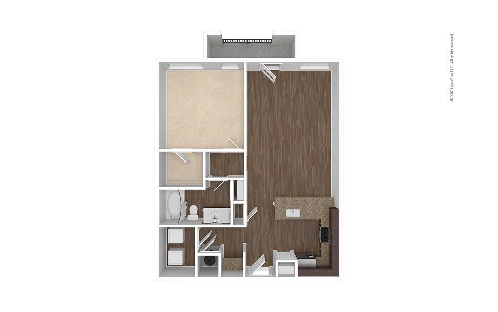 A10 1 bedroom 1 bath 944 square feet (1)