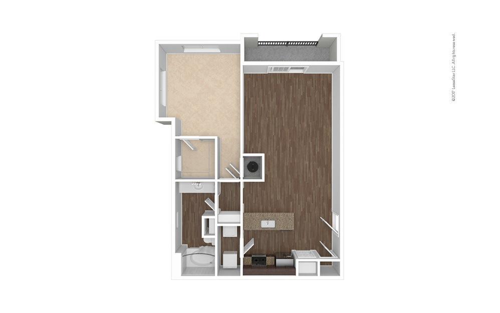 A11 1 bedroom 1 bath 968 square feet (1)