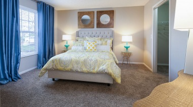Spacious Bedrooms at Abbie Lakes by Cortland Apartments